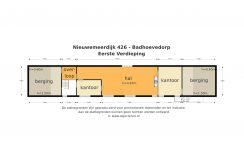 20 Nieuwemeerdijk 426 plattegrond 1e verd