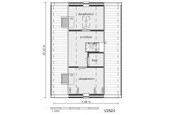 09 Lijnderdijk 197 woning Plattegrond Verdieping V2S01