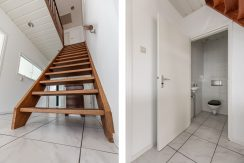 For Rent! A detached family house with free view @Amsterdam Nieuw-West Osdorperweg 582 Foto 15 Trap en toilet 01a